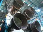 Saturn V F-1 rocket engines