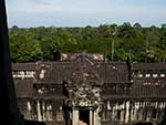 Northern view of the jungle from Angkor Wat