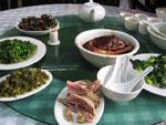 Traditional Zhouzhuang dishes