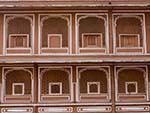 Windows of the Chandra Mahal