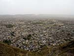 View of Jaipur, the pink city
