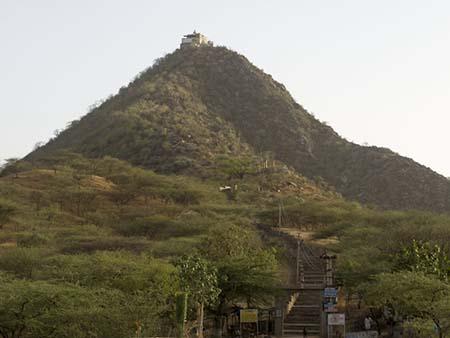 Bala margin temple on Ratnagiri hill