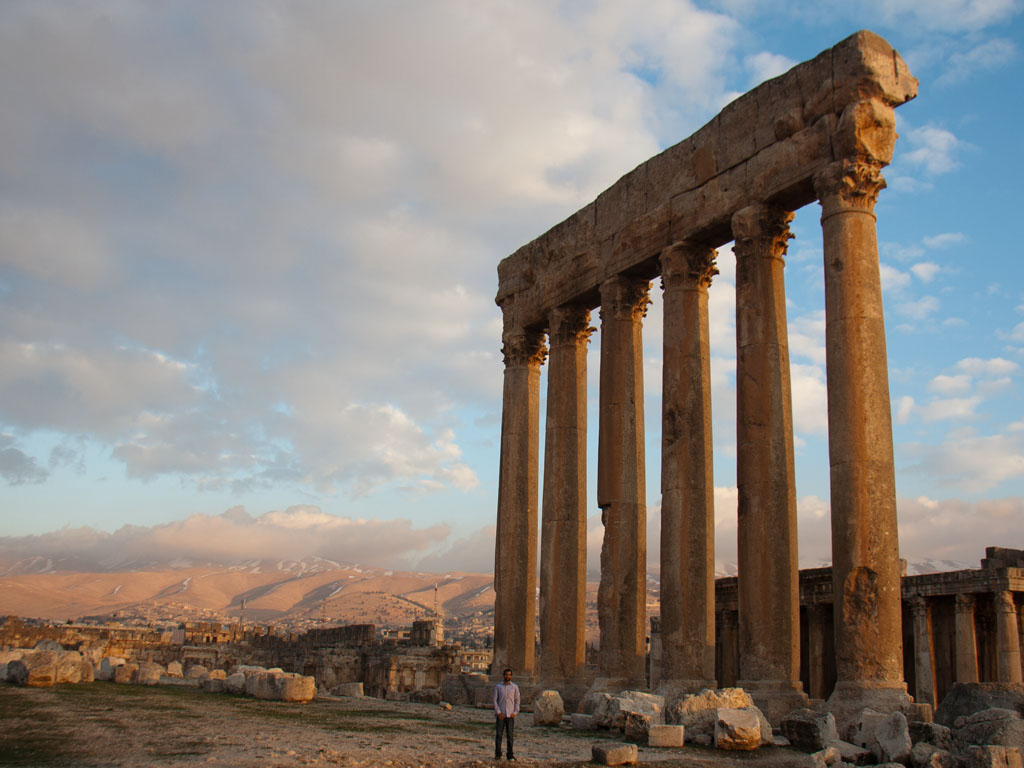 the temples of baalbek sonya and travis