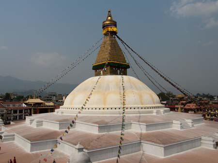 Bodhnath Stupa, Nepals largest stupa