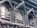 Kumari Bahal (House of the Living Goddess) with intricate carved windows