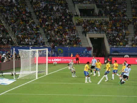 Near Argentina goals