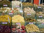 Picked vegetables in brine